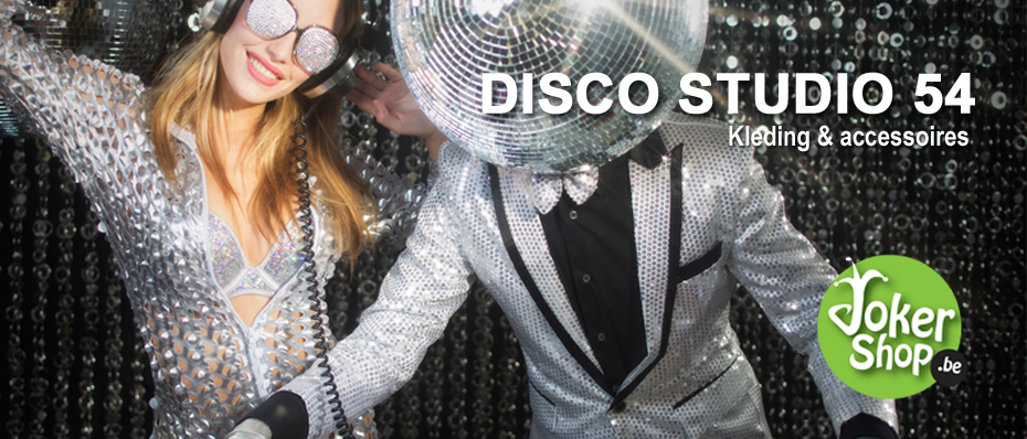 studio 54 kledij outfit disco kostuum kleding
