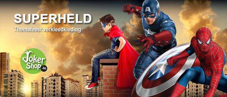 superheld kostuum superhelden verkleedkleding carnaval