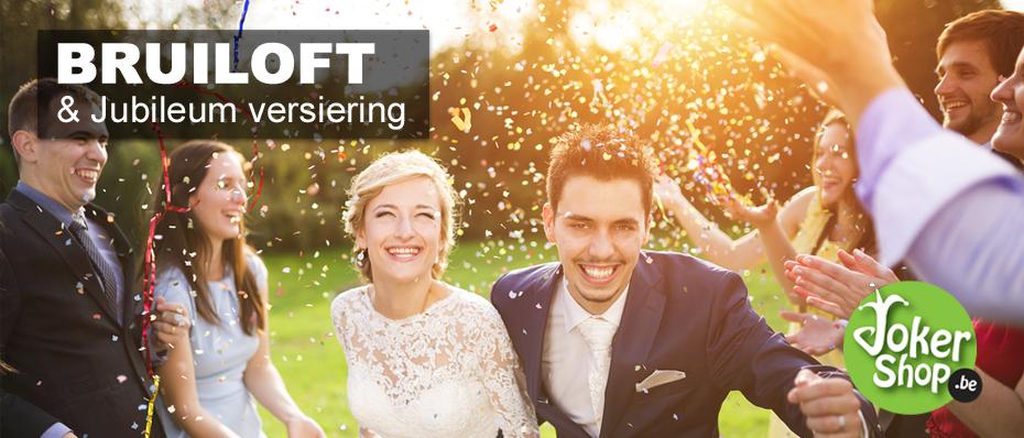 bruiloft versiering decoratie huwelijk jubileum