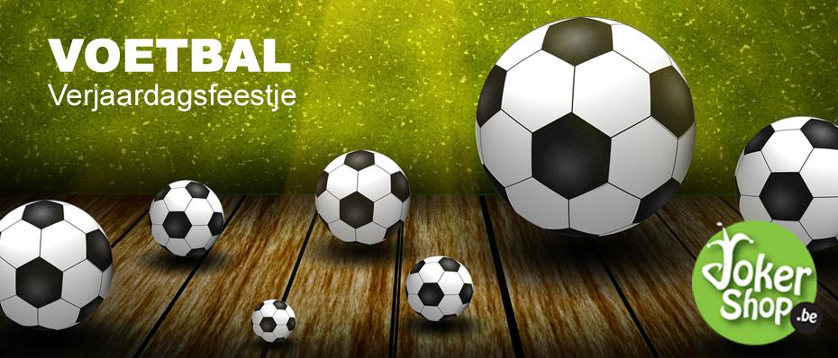 kinderverjaardag verjaardagsfeestje kind voetbal thema versiering decoratie feestartikelen