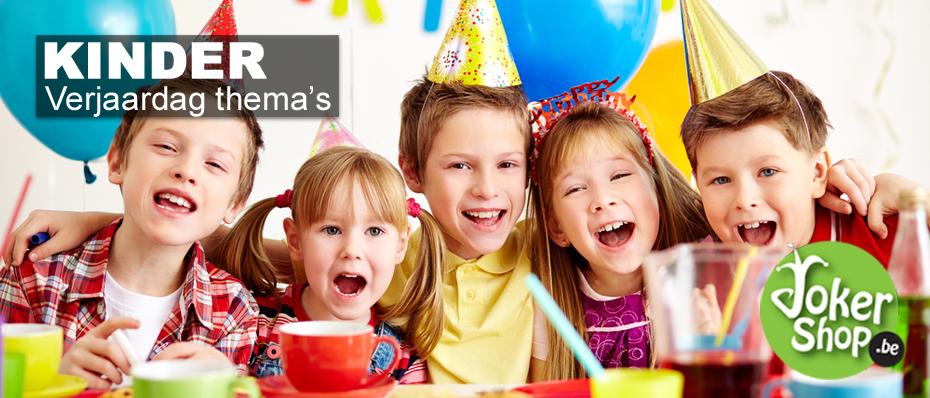kinder verjaardag versiering decoratie feestartikelen thema themafeest