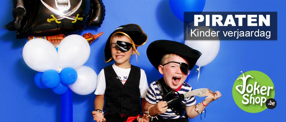 kinderverjaardag verjaardagsfeestje kind piraten thema piratenfeest versiering feestartikelen
