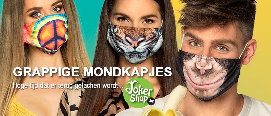 grappige mondmaskers komische mondkapjes kind volwassenen
