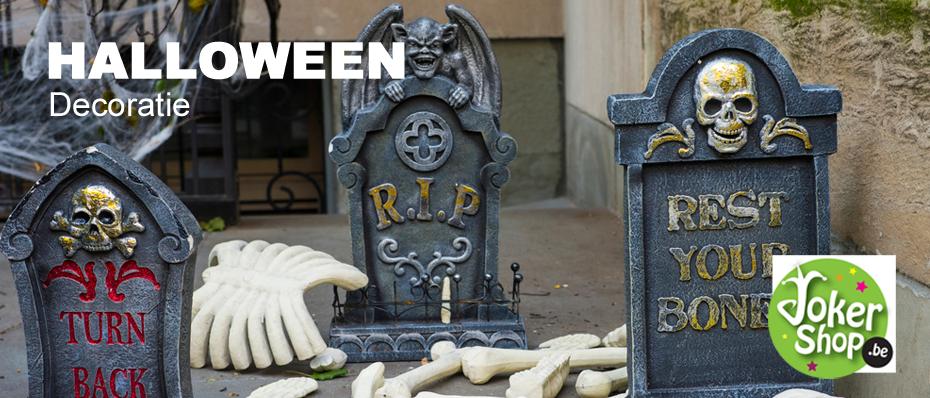 Halloween decoratie kopen halloween versiering jokershop - Decoratie voor halloween is jezelf ...