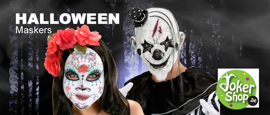 enge halloween maskers horror zombie griezel