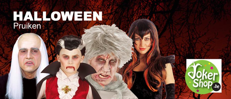 halloween pruiken heksen