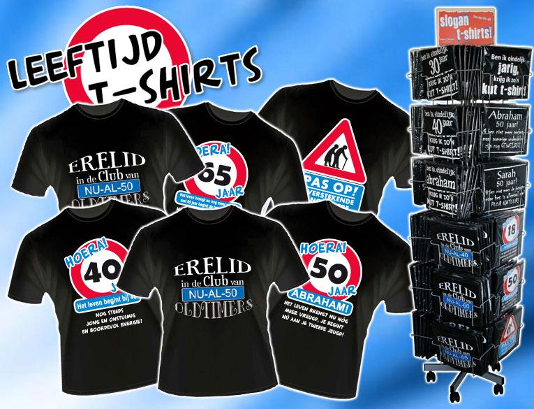 t shirt 50 jaar 30 40 60 65 18 16 jaar shirt verjaardag